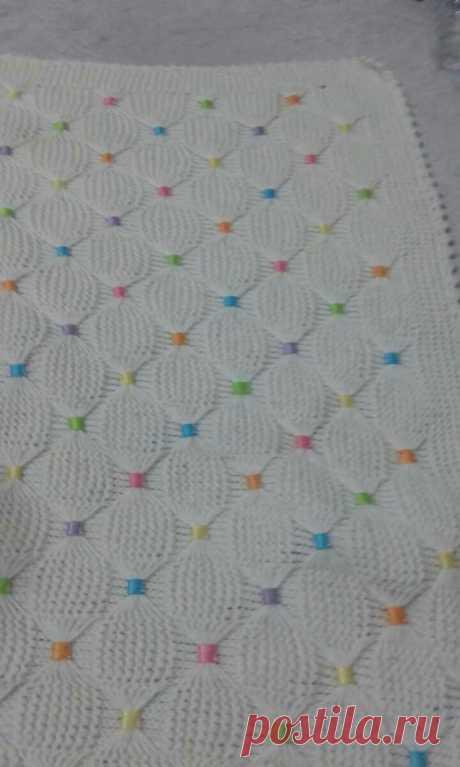 kurdeleli bebek battaniye modelleri – Elişi Marketi, Örgü