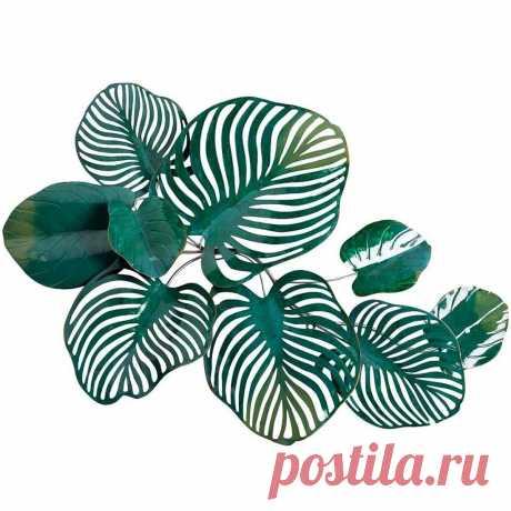 Настенный декор Листья тропические 1016х737х127 см - купить за 9300 руб. в интернет-магазине DG-Home