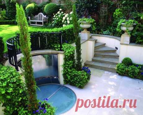 Террасы в ландшафтном дизайне сада