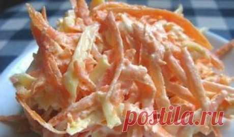 Морковный салат с яйцом. Его можно есть даже на ночь!  Рецепт этого чудо-салатика посоветовала мне подруга, которая вот уже несколько лет как придерживается низкокалорийной диеты. Она ест этот морковный салат очень часто. И, главное, его можно есть даже …