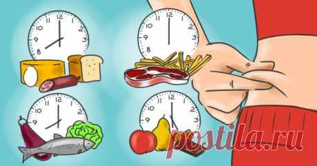 Как всё есть и не толстеть: узнай, в какое время пища усваивается, а в какое превращается в жир. - Мудрые советы  Большинство диет сфокусированы на том, что и в каком количестве нужно есть, чтобы похудеть. При этом игнорируют, в какое время должен происходить прием пищи. А вот сторонники питания по биоритмам поступают иначе: они едят всё, но в строго ограниченное время.