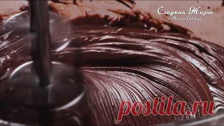 Шоколадный крем для торта - Рецепты Simple Food Шоколадный крем для торта, нежный с насыщенным вкусом и потрясающей текстурой. Этот крем подойдет как для прослойки коржей, так и для декора.