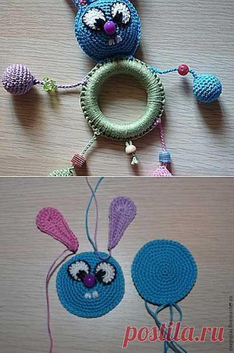 Обвязка грызунка-игрушки для слингобус - Ярмарка Мастеров - ручная работа, handmade