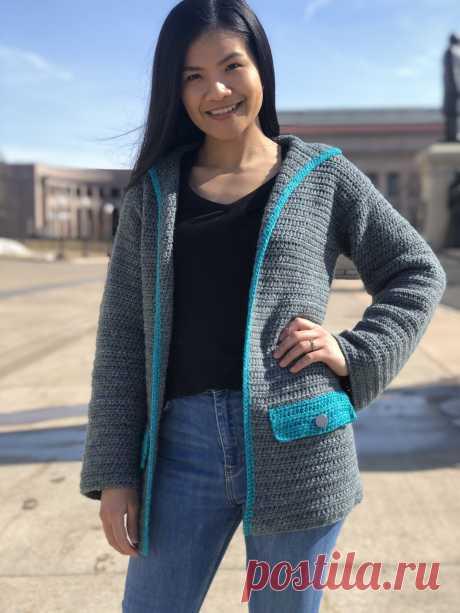 Crochet Cardigan: Springtime - KnitcroAddict
