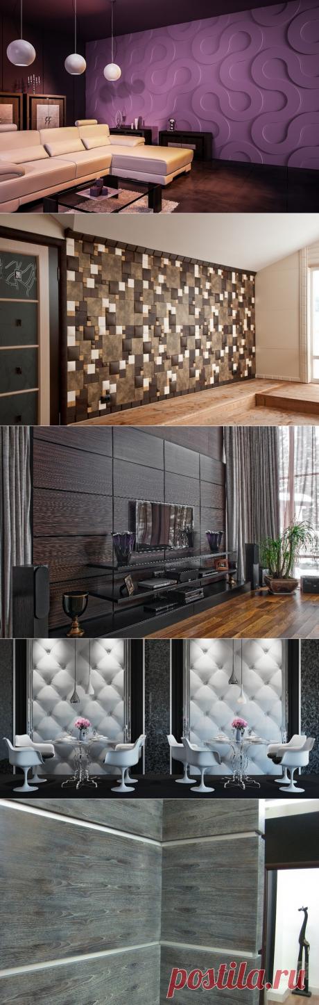 Декоративные панели для стен: выбираем материал | Дом Мечты
