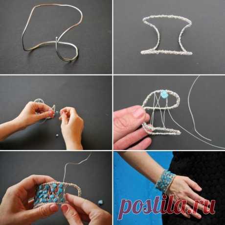 как сделать красивую браслет своими руками - Prakard