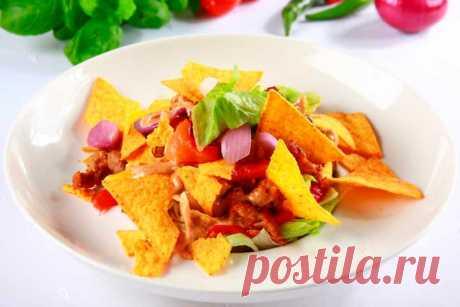 Вкусный салат со свининой и перцами – пошаговый рецепт с фото.