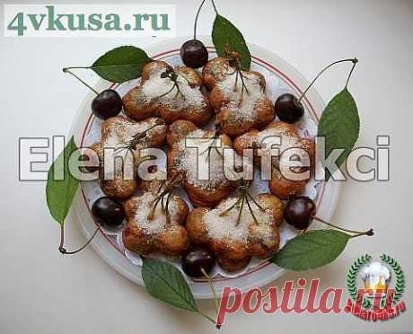 «Жареная вишня в тесте» | 4vkusa.ru