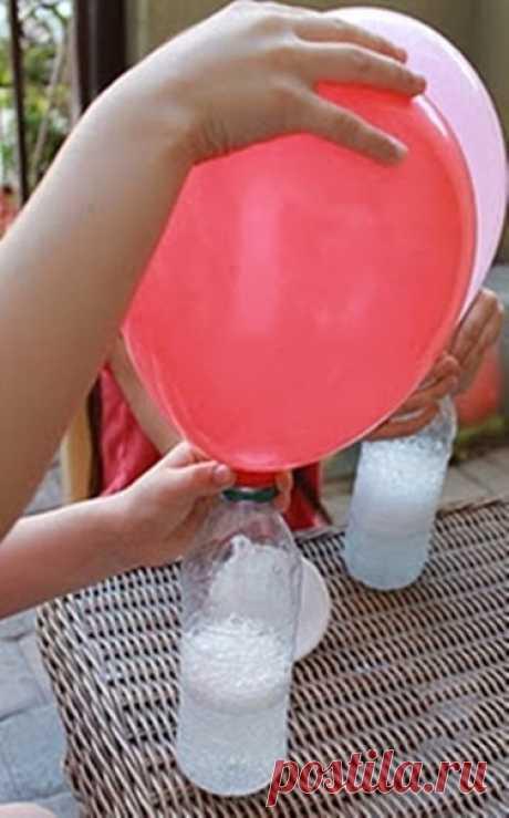Надуваем шарики в домашних условиях / Западло