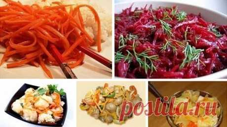 Салаты по-корейски: 5 рецептов! Отличная подборка салатиков для тех, кто любит поострее))