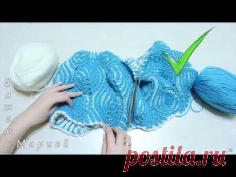 Лайфхаки. Полезные советы при вязании спицами в технике БРИОШЬ // Brioche Stitch