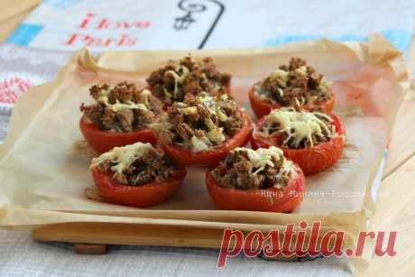 Запеченные помидоры   Русская кухня