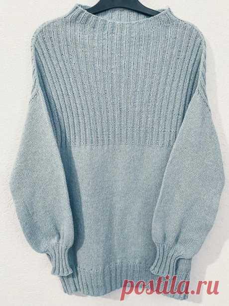 Пуловер сверху вниз спицами с узором резинка 2х2   АЖУР - схемы узоров