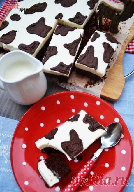 Молочно-шоколадный торт