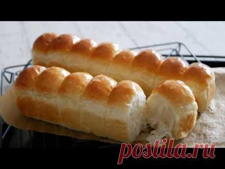 縦長整列ちぎりパン♪ | Soft and Fluffy  Bread