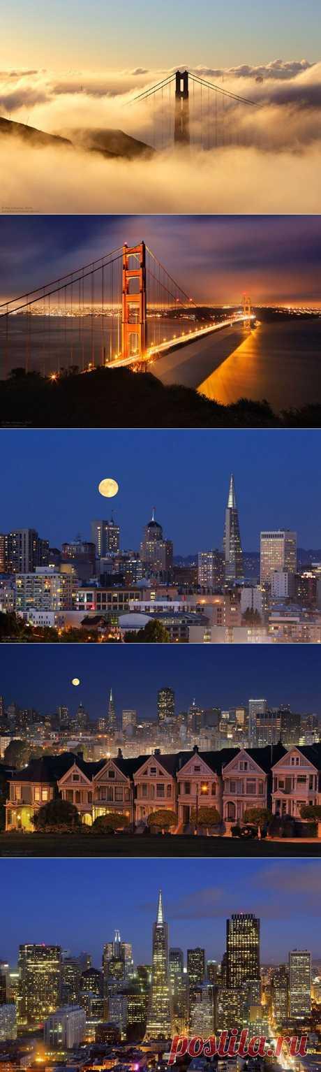 Сан-Франциско — город мостов и туманов.