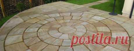 Тротуарная плитка на бетонное основание: все про укладку плитки на бетон