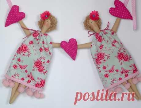 Кукла из ткани поэтапно своими руками в домашних условиях
