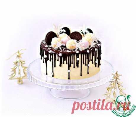"La torta mussovyy de \""Rafaelo\"" - la receta de cocina"
