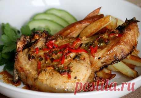 Свиные отбивные в «сумасшедшем» маринаде;)) — Вкусные рецепты