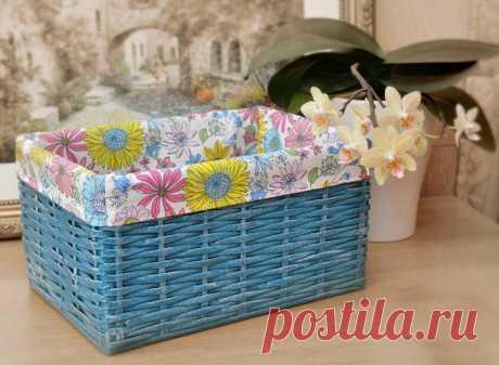 Текстильные, вязаные, плетеные: как сделать коробку для хранения своими руками | Рукоделие