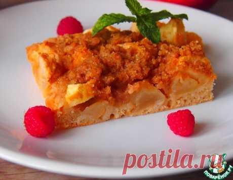 Быстрый яблочный пирог – кулинарный рецепт