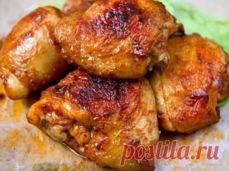 Курица в горчично-медовом маринаде: делюсь необычным рецептом | Кулинарные записки обо всём | Яндекс Дзен