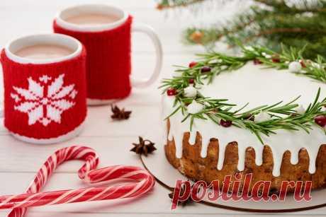 Подборка десертов для новогоднего стола.
