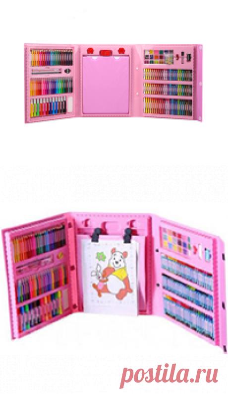 ДЕТСКИЕ НАБОРЫ ДЛЯ ТВОРЧЕСТВА. художественный набор для рисования с мольбертом. ЛУЧШИЙ ПОДАРОК ДЛЯ ВАШЕГО РЕБЕНКА! С художественным набором для рисования ваш ребенок окунется в мир творчества, станет более усидчивым, внимательным и аккуратным. В наборе большое количество фломастеров, карандашей, мелков и красок — всего 176 предметов. елена войнатовская начинки для тарталеток