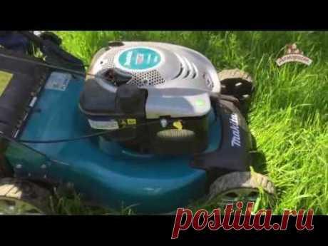 Подробное руководство по эксплуатации самоходной газонокосилки makita PLM4621
