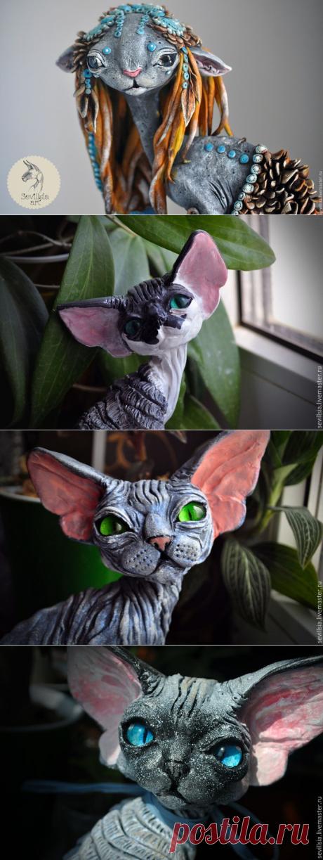 «Кошачья раса» - статуэтки Sevillsia