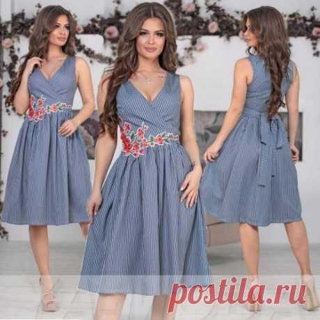 Льняное платье : новая коллекция летних платьев. Спешите увидеть первыми! Скидки.