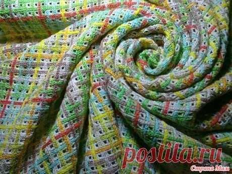 Идеи для вязания - филейная сетка плюс тамбурный шов - Все в ажуре... (вязание крючком) - Страна Мам