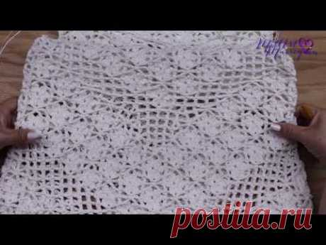 Vestido Crochet Mediano parte 1 de 2