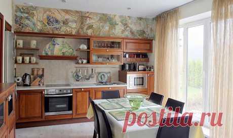 Отделка стен на кухне – современные, оригинальные способы . Милая Я