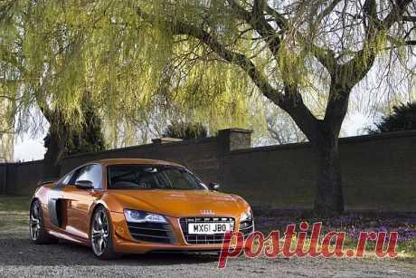 Audi R8 GT UK-spec, 2010. Произведены 33 единицы.
