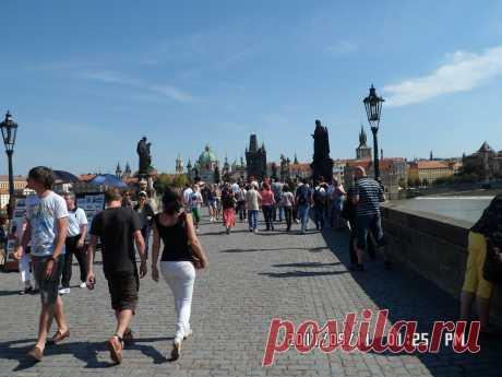 Прага, Карлов мост...