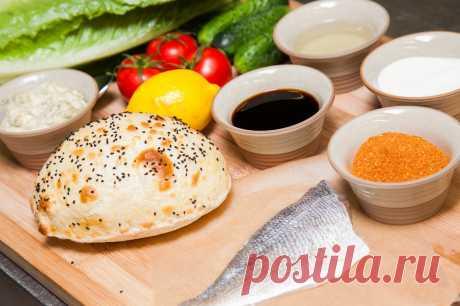 Фаст-фуд по-турецки… Балык-экмек – лепешка с рыбой и овощами — Готовим дома