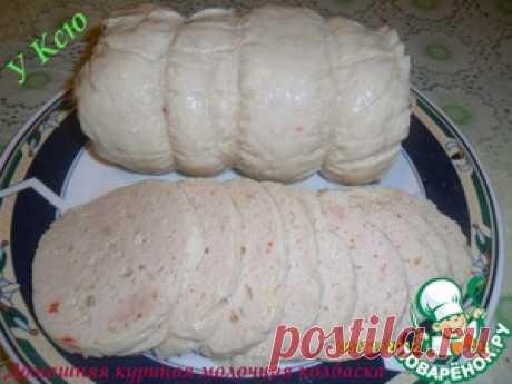 Domashnya el embutido de gallina de leche - la receta de cocina