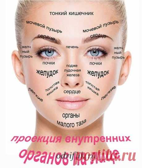 Диагностика заболеваний по лицу | odriflik