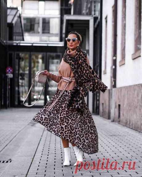 Новый любимец всех модниц: Как стильно носить хищный принт | Офигенная
