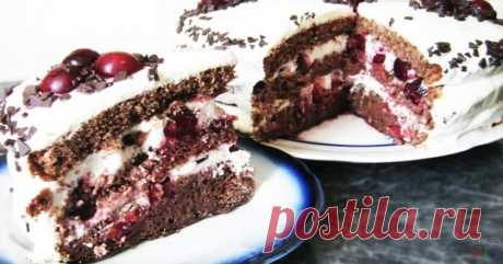 """Обалденный торт """"Цыганка"""""""