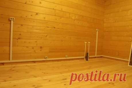 Что нужно знать о проводке в деревянном доме, чтобы не наделать бед