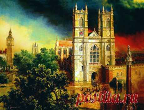 Вестминстерское аббатство — сбор пазла — Пазлы онлайн