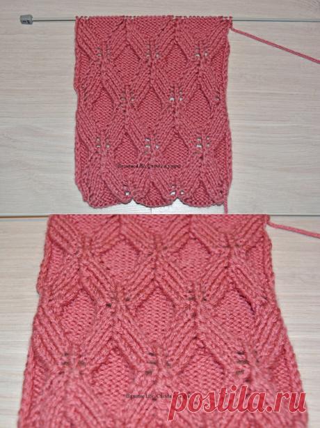 Шикарный рельефный узор для пуловера, джемпера или кардигана | Вязание life. Схемы и узоры | Яндекс Дзен