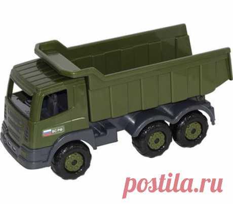 ПРЕСТИЖ автомобиль-самосвал военный - купить в магазине развивающих игрушек Детский сад detsad-shop.ru