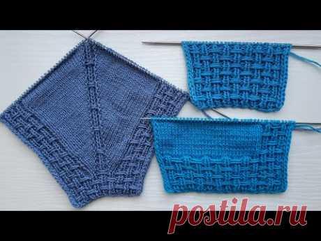 Knitted Raglan and Border | Raglan und Blende stricken | Raglan e Bordo ai ferri | Raglán y Cenefa