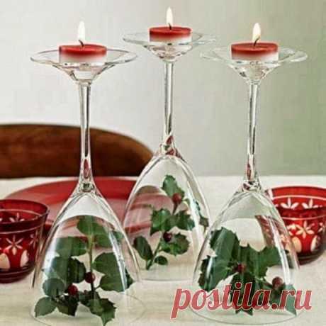 Чудесные идеи украшения новогоднего праздничного стола