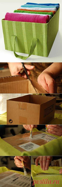 Универсальная коробка для хранения вещей | СДЕЛАЙ САМ!
