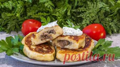Картофельные зразы с мясным фаршем и грибами – пошаговый рецепт с фотографиями